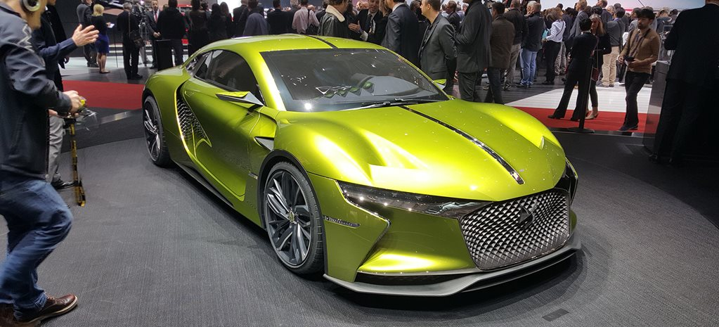 2016 Geneva Motor Show: DS E-Tense would be $400K Tesla killer