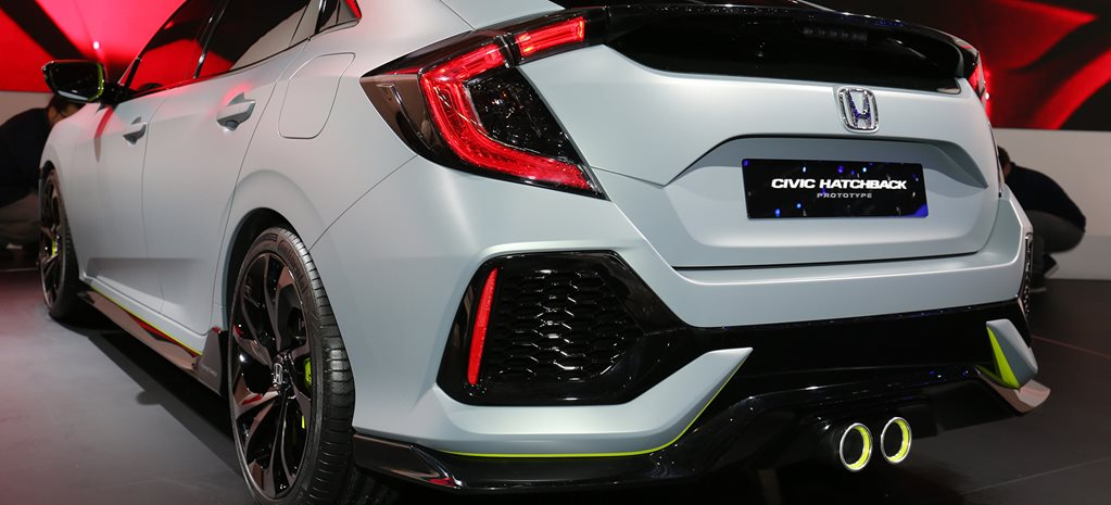 2016 Geneva Motor Show: Honda Civic Hatch, Type R for Australia
