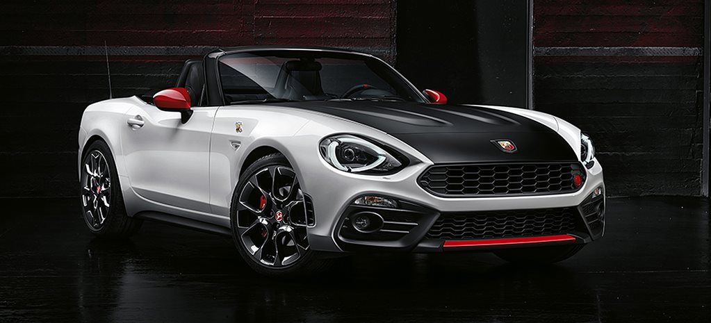 2016 Geneva Motor Show: Abarth 124 Spider adds power to Fiat's MX-5