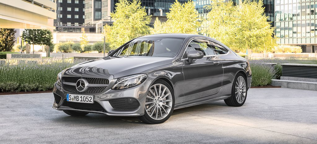 2016 mercedes benz c class coupe pricing revealed. Black Bedroom Furniture Sets. Home Design Ideas