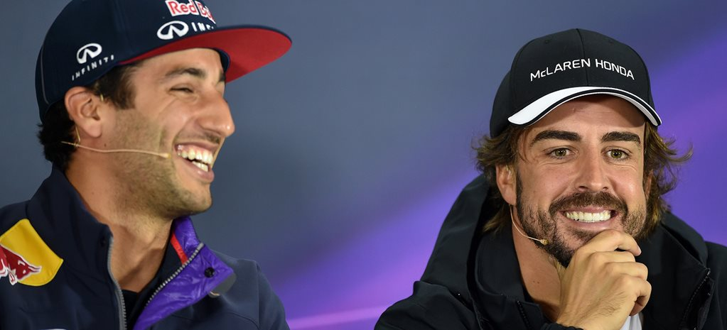 Daniel Ricciardo will be F1 world champion, says Alonso