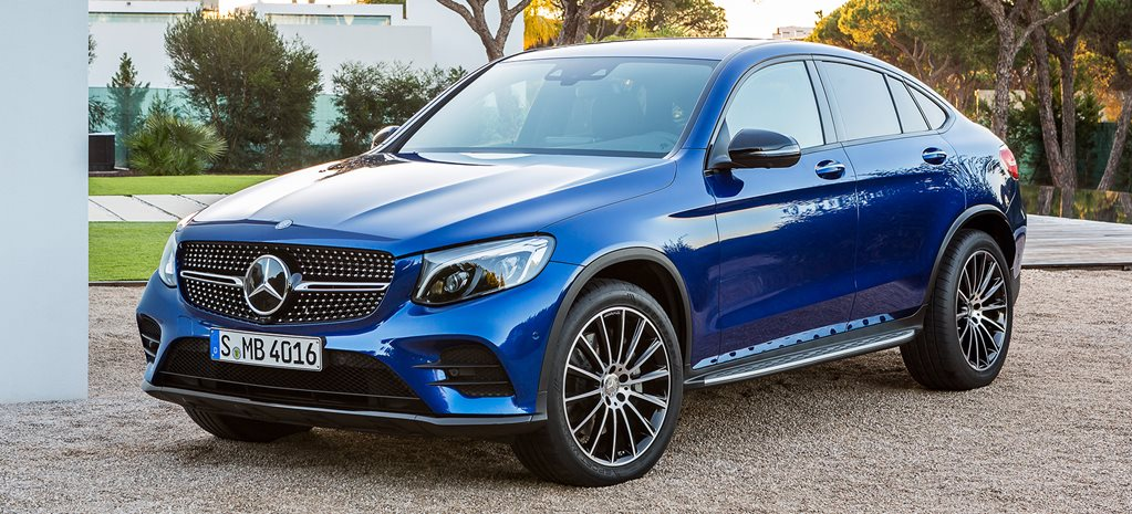 2016 New York Motor Show: Mercedes-Benz GLC Coupe revealed