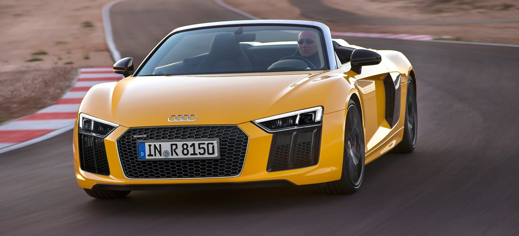2016 New York Motor Show: Audi R8 Spyder revealed