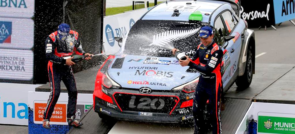 Paddon wins WRC Rally Argentina, Rossi wins MotoGP at Jerez