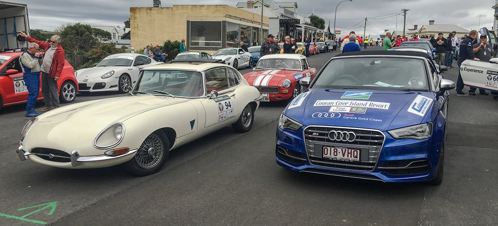 2016 Targa Tasmania behind the scenes