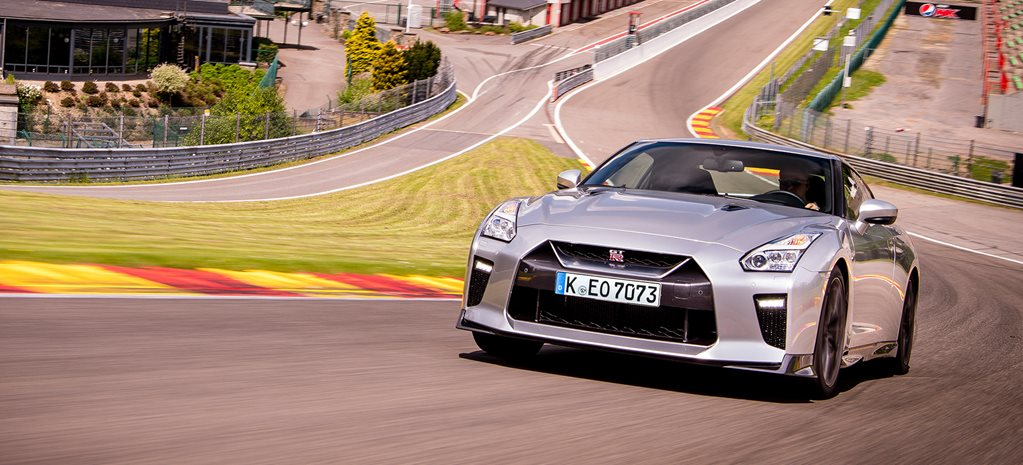 Flat out around Spa Francorchamps in a Nissan GT-R