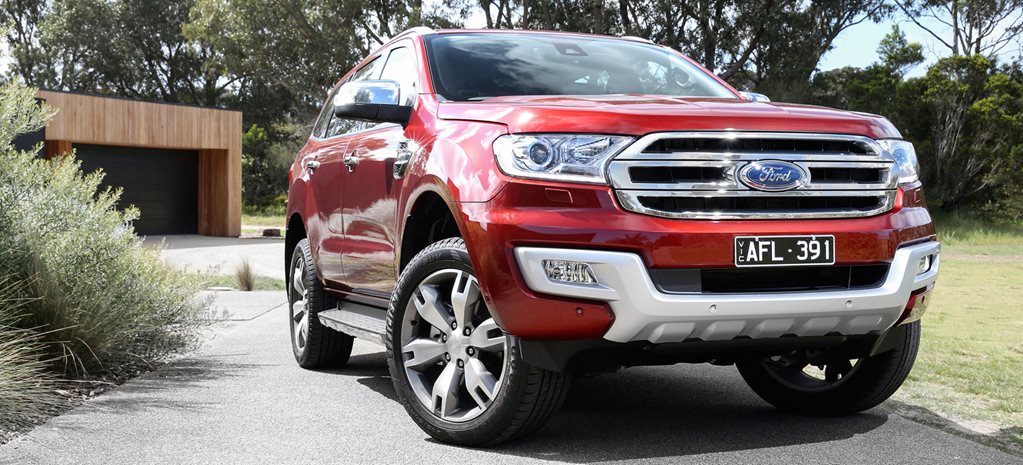 "Ford Everest goes rear-wheel drive; Ford Edge is ""imminent'"