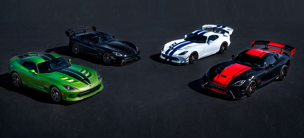 Dodge Viper to be commemorated with exclusive limited-edition runs