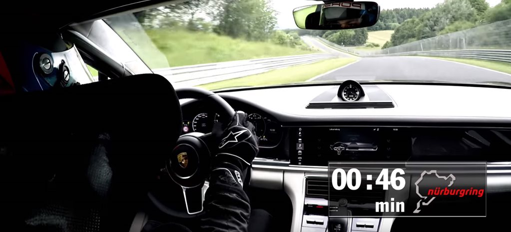 2017 Porsche Panamera breaks sedan Nürburgring record