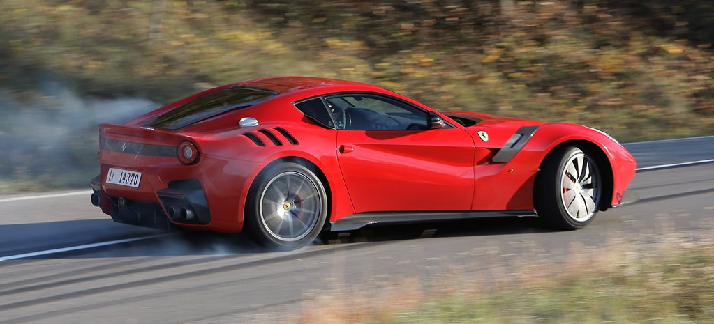 2016 Ferrari F12tdf review