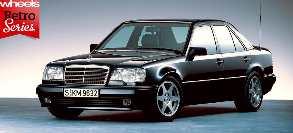 1990 Mercedes Benz 500e Retro Series