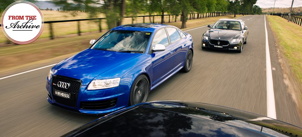 Archive: Porsche Panamera Turbo vs Audi RS6 vs Maserati Quattroporte comparison review