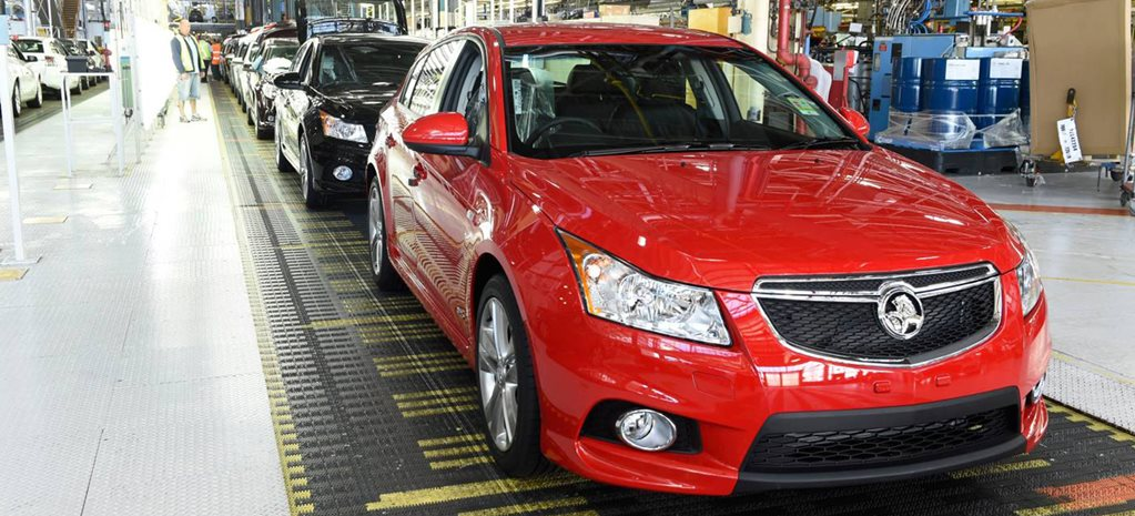 Holden confirms Cruze production shut-down date