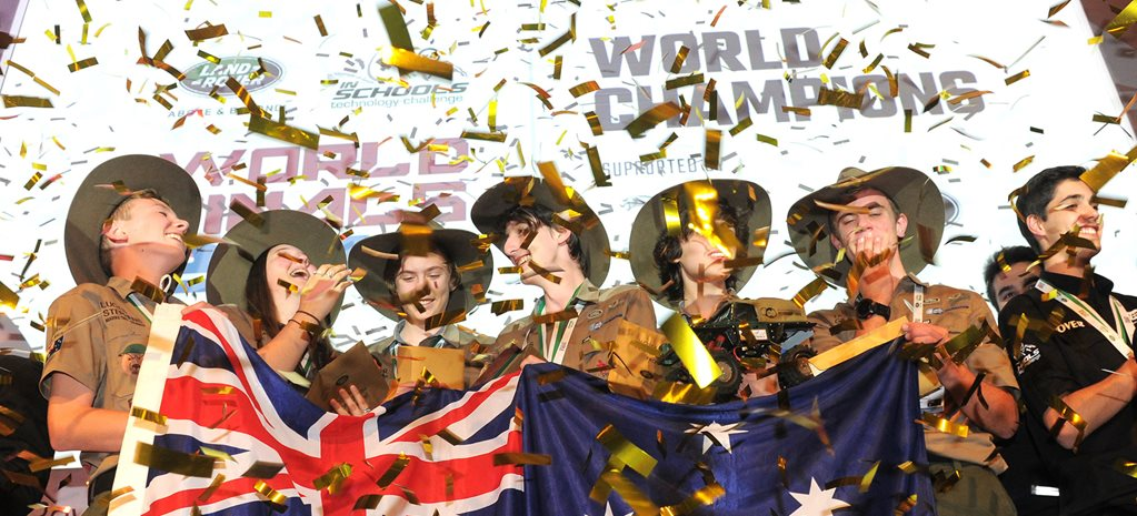Aussies win Land Rover 4x4 in Schools World Championship