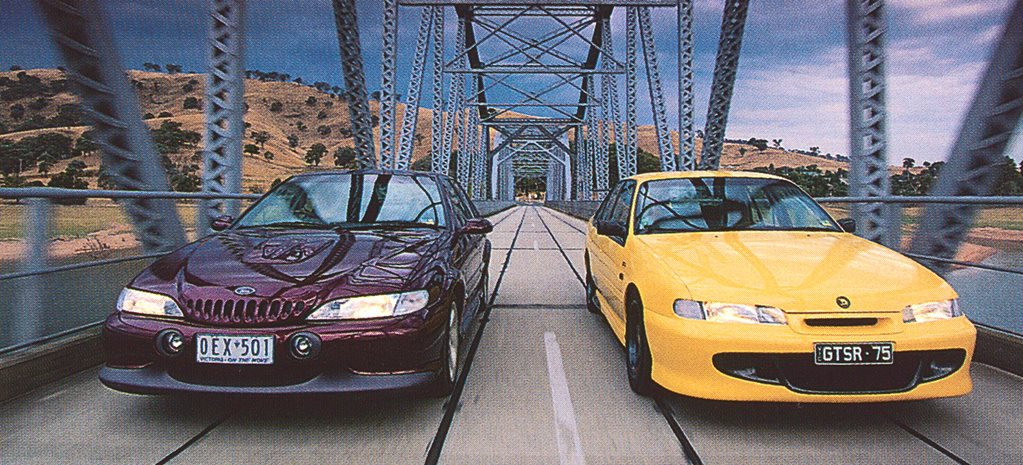 Archive: 1996 Ford Falcon EL GT vs 1996 HSV GTS-R