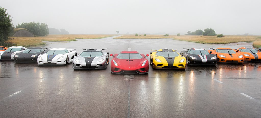 Koenigsegg owners club holds world's most epic road-trip