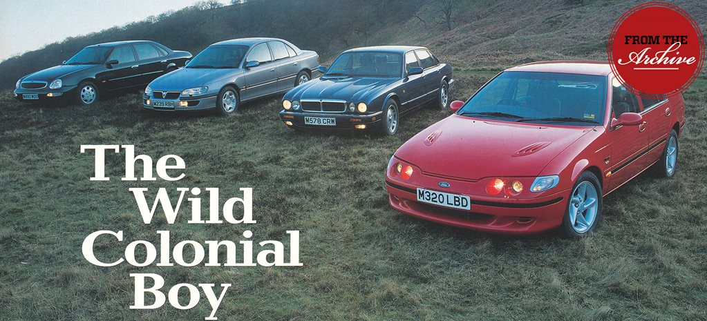 Archive: Ford Falcon XR6 vs Vauxhall Omega vs Ford Scorpio vs Jaguar XJ