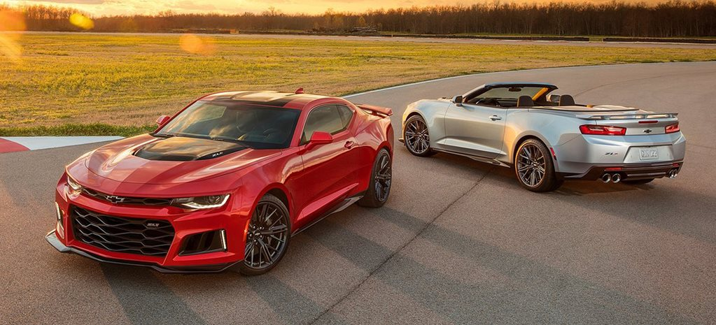 Chevrolet Camaro ZL1 is possible hint of things to come