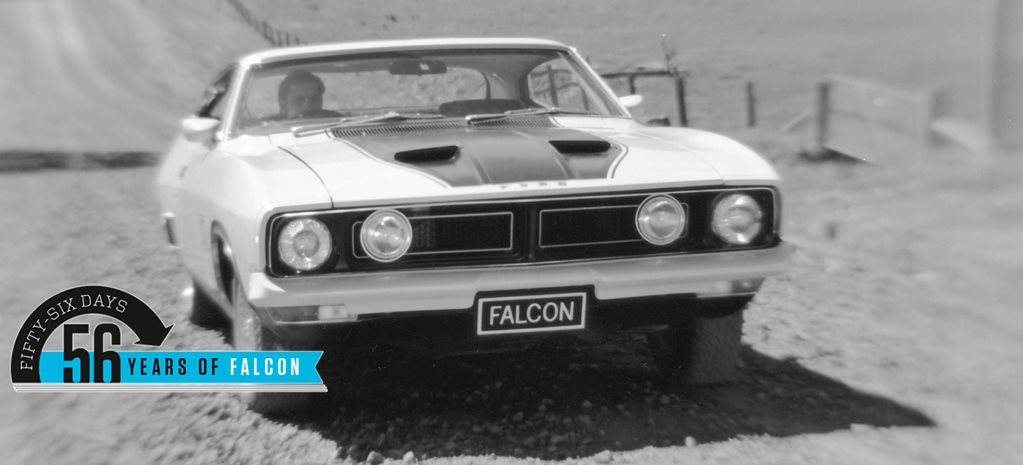 Ford Falcon: 56 years in 56 days