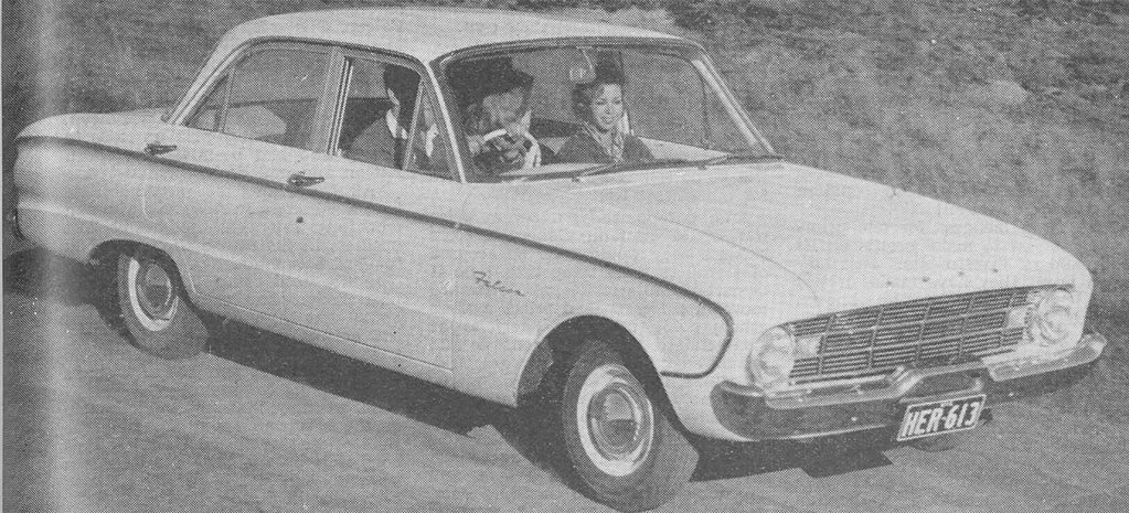 1961 Ford Falcon XK sales make waves