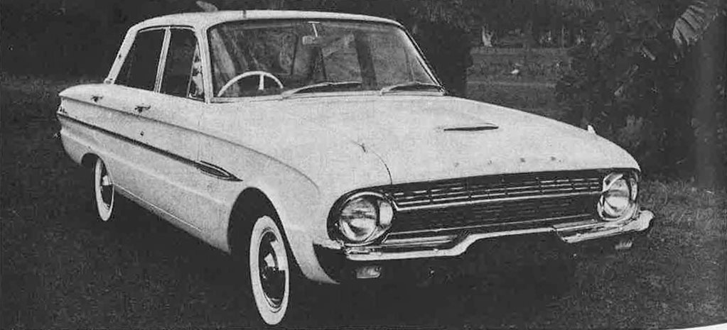 1962 Ford Falcon XL Futura vs Holden EJ Premier
