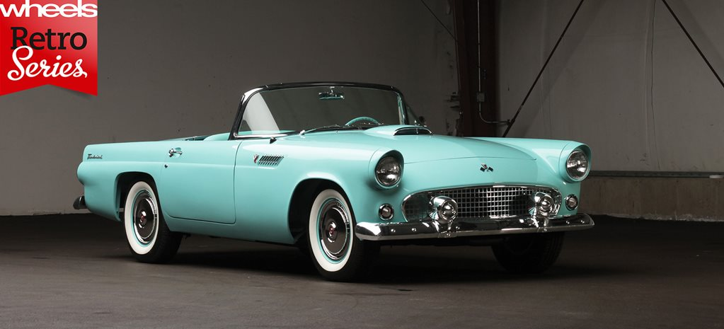 1954 Ford Thunderbird: retro series