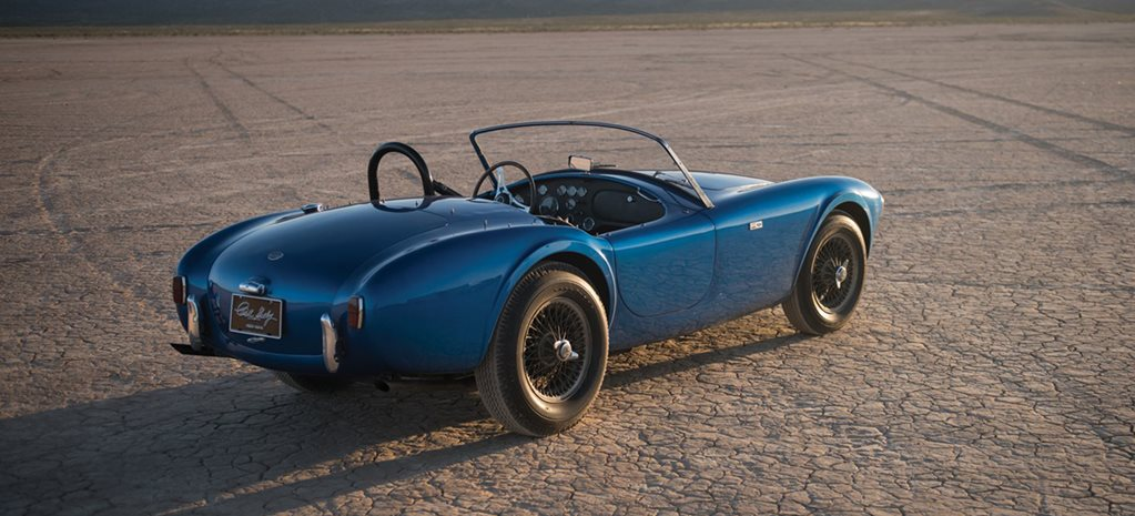 Original Shelby Cobra sells for record amount at auction