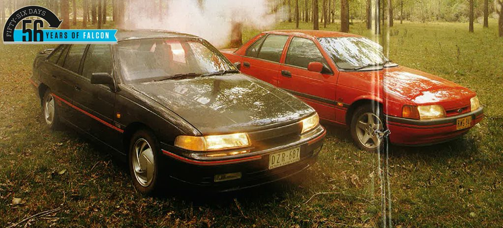 1992 Ford EB II Falcon XR8 v Holden VP Commodore SS