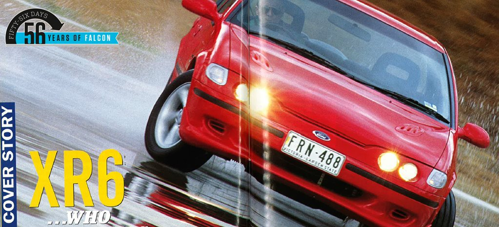 1994 Ford EF Falcon XR6 review