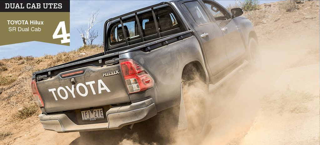 Dual-cab 4x4 ute comparison review: Toyota Hilux