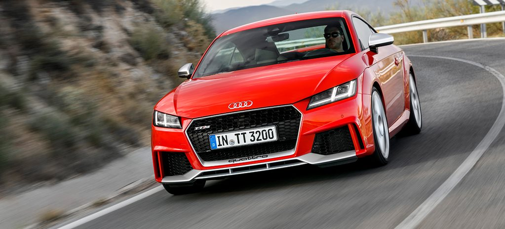 2017 Audi TT RS review