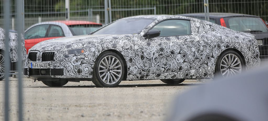 2018 BMW 8 Series spy pics