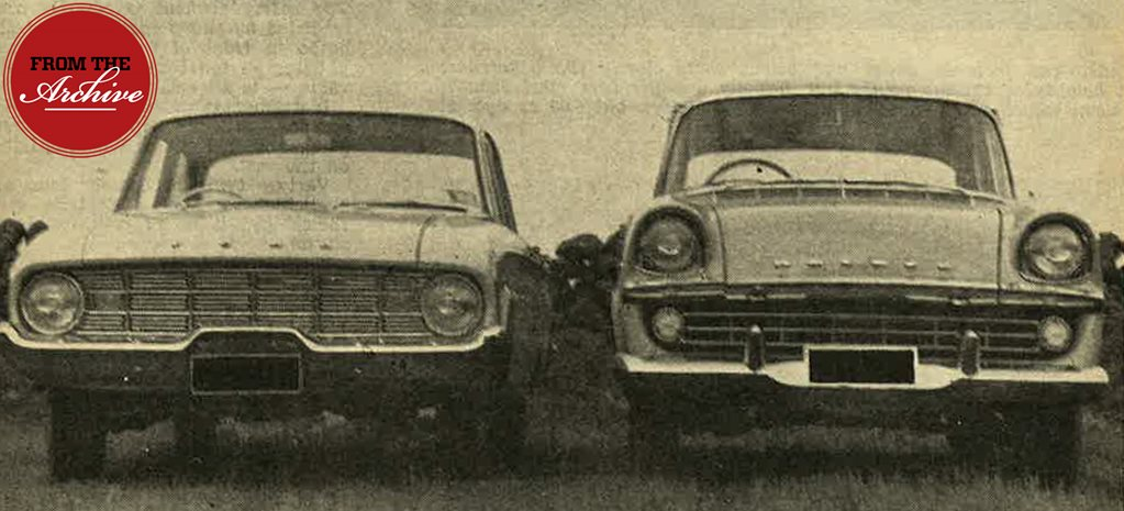 1960 Ford Falcon vs Holden FB: How they compared