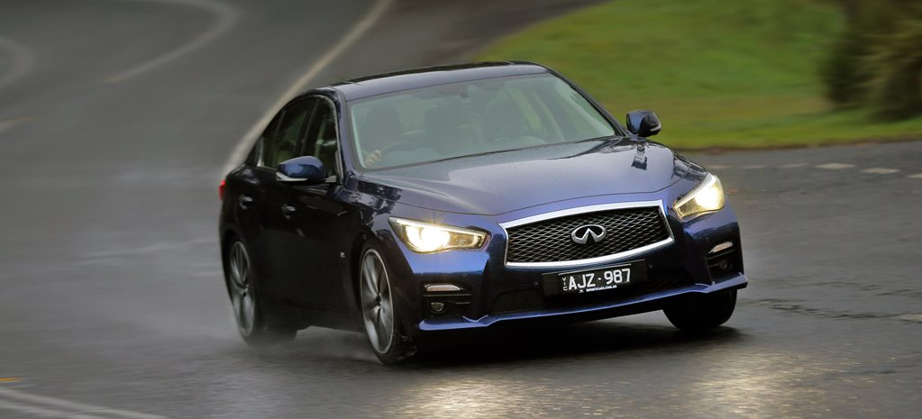 2016 Infiniti Q50 Red Sport review