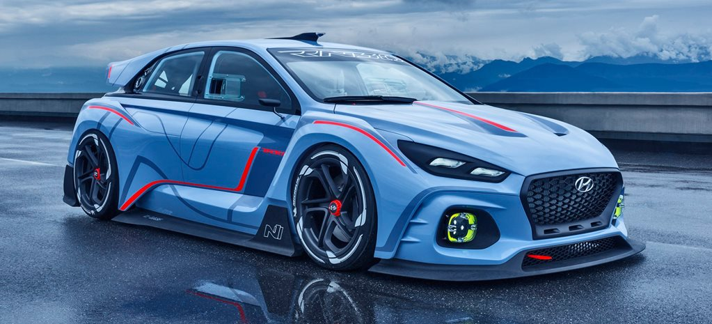 2016 Paris Motor Show: Hyundai RN30 280kW concept previews i30N hot hatch