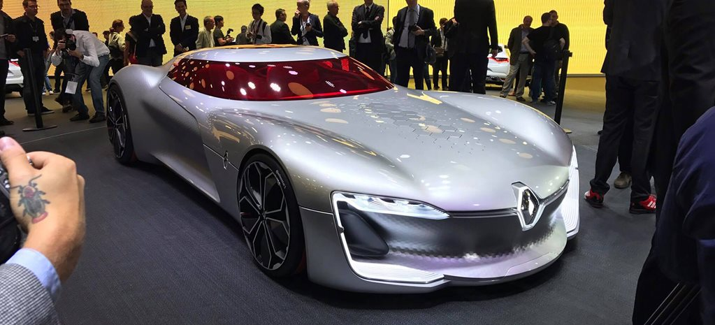 2016 Paris Motor Show: Renault Trezor concept revealed