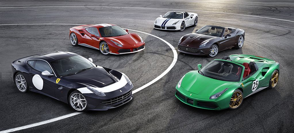 2016 Paris Motor Show: Ferrari reveals 70th anniversary editions