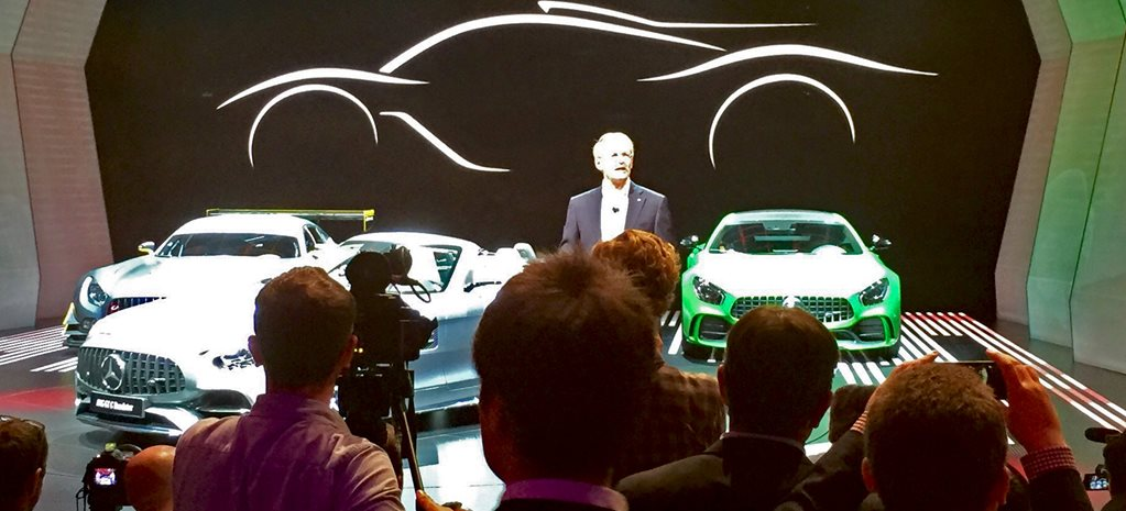 2016 Paris Motor Show: AMG boss reveals hypercar's Formula One secrets