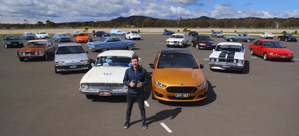 Ford Falcon family portrait: Behind the scenes video