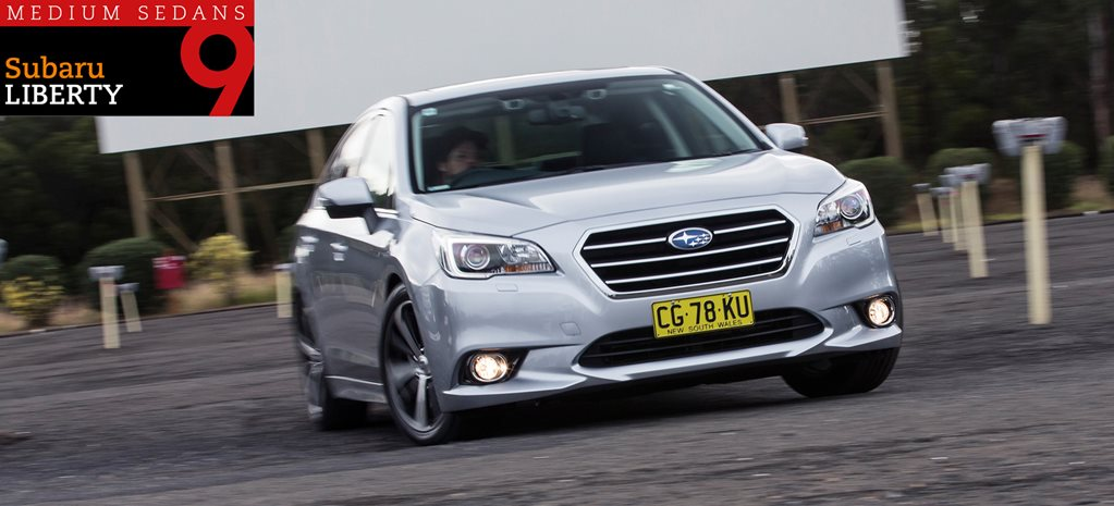Family sedan comparison review: Subaru Liberty 2.5i Premium