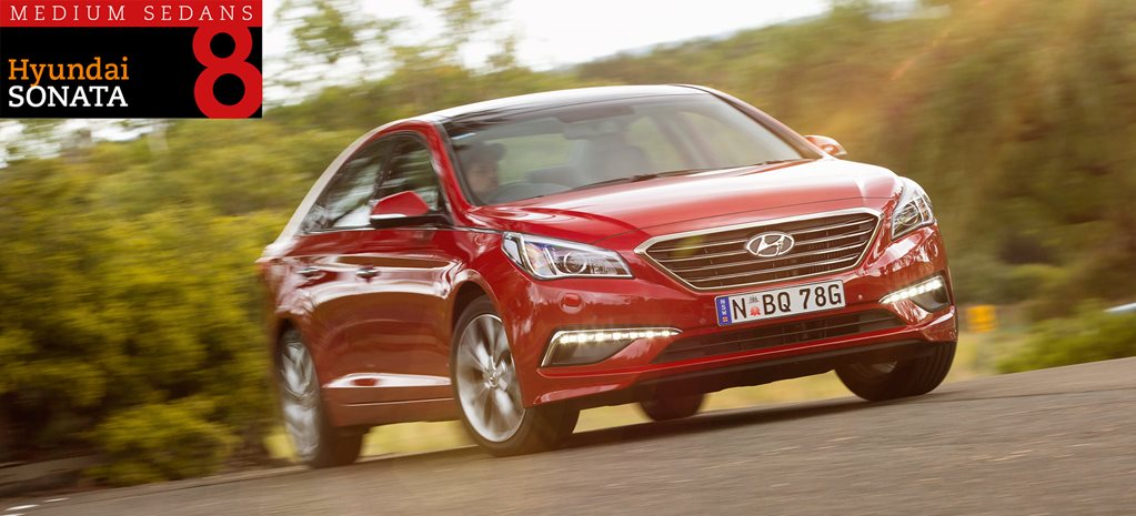 Family sedan comparison review: Hyundai Sonata Premium