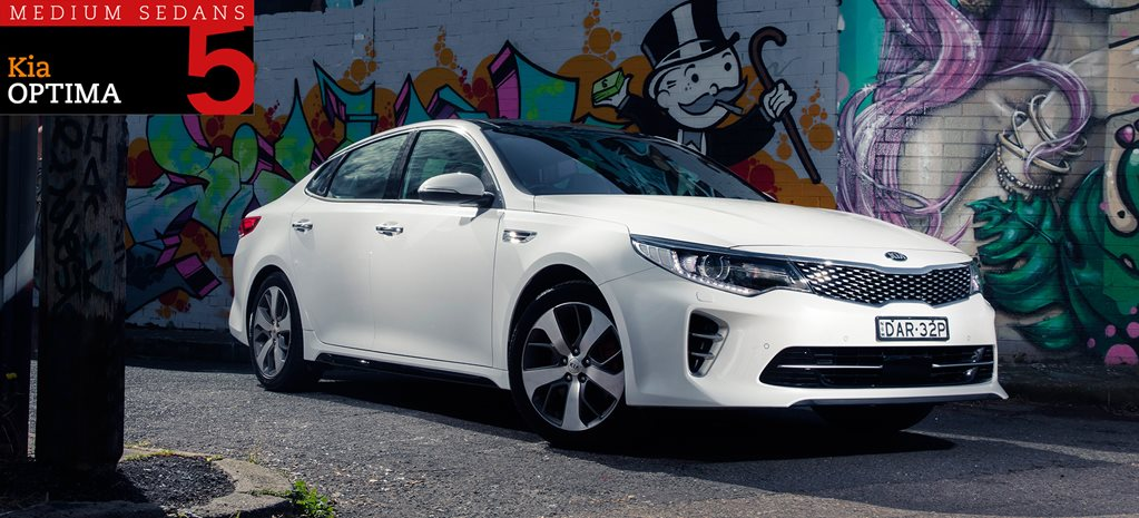 Family sedan comparison review: Kia Optima GT