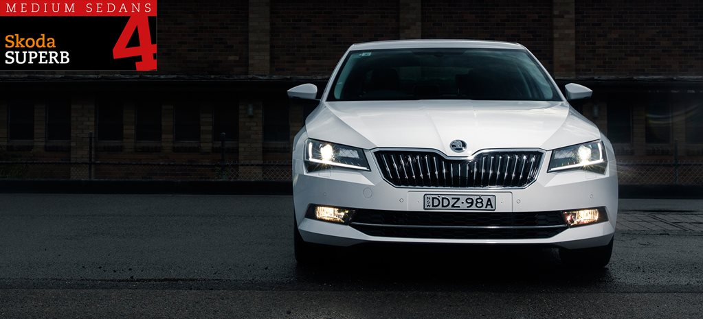 Family sedan comparison review: Skoda Superb