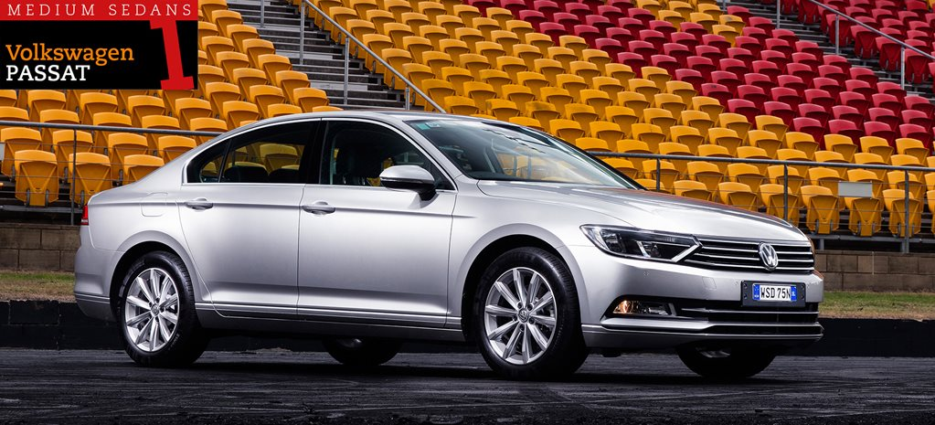 Family sedan comparison review: Volkswagen Passat 132TSI Comfortline