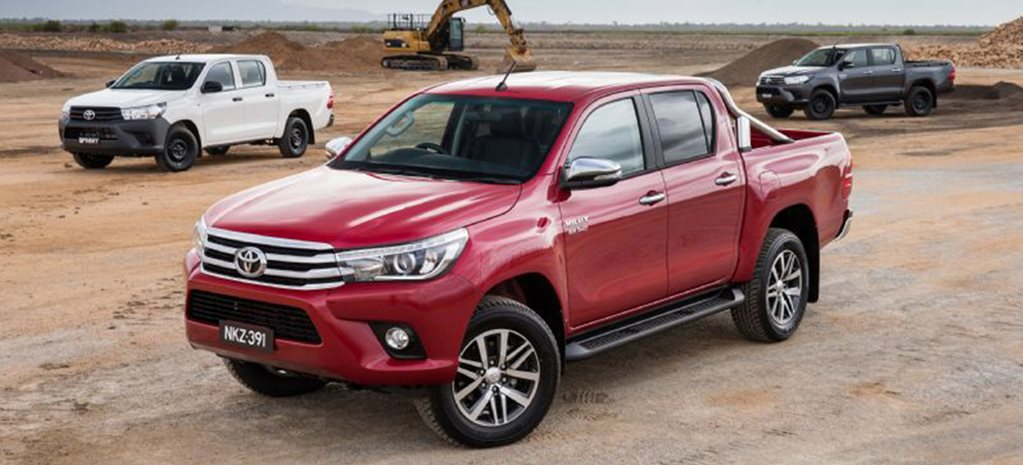 Toyota Hilux, Ford Ranger top October new-car sales chart