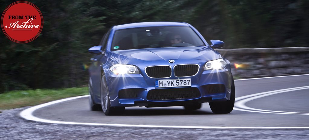 Archive: 2013 BMW M5 review in Germany
