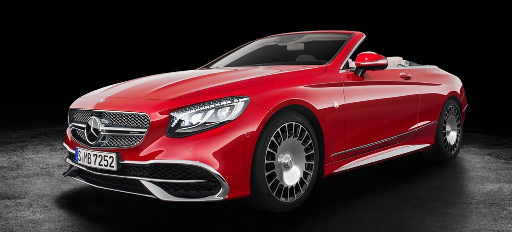 2016 LA Motor Show: Mercedes-Maybach S650 Cabriolet set to break $600,000 ceiling