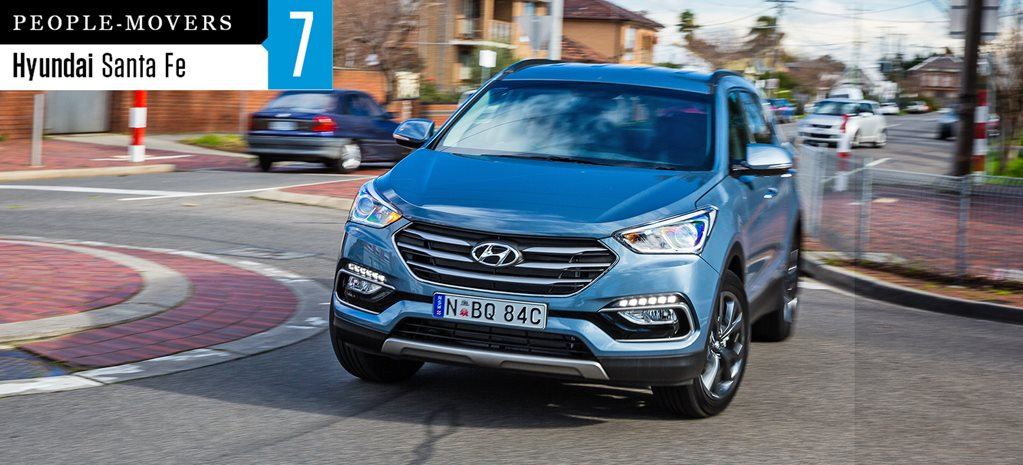 Seven seater comparison review: Hyundai Santa Fe 30
