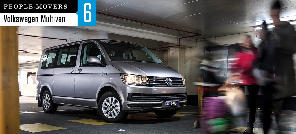 Seven seater comparison review: Volkswagen Multivan