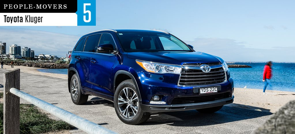 Seven seater comparison review: Toyota Kluger GX AWD